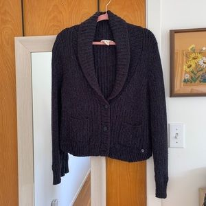 Dark gray Levi's cardigan